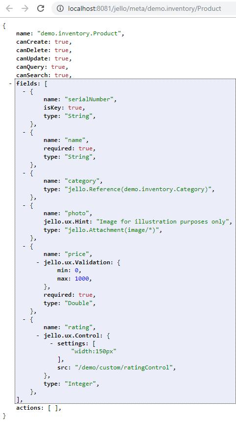 Jello REST API